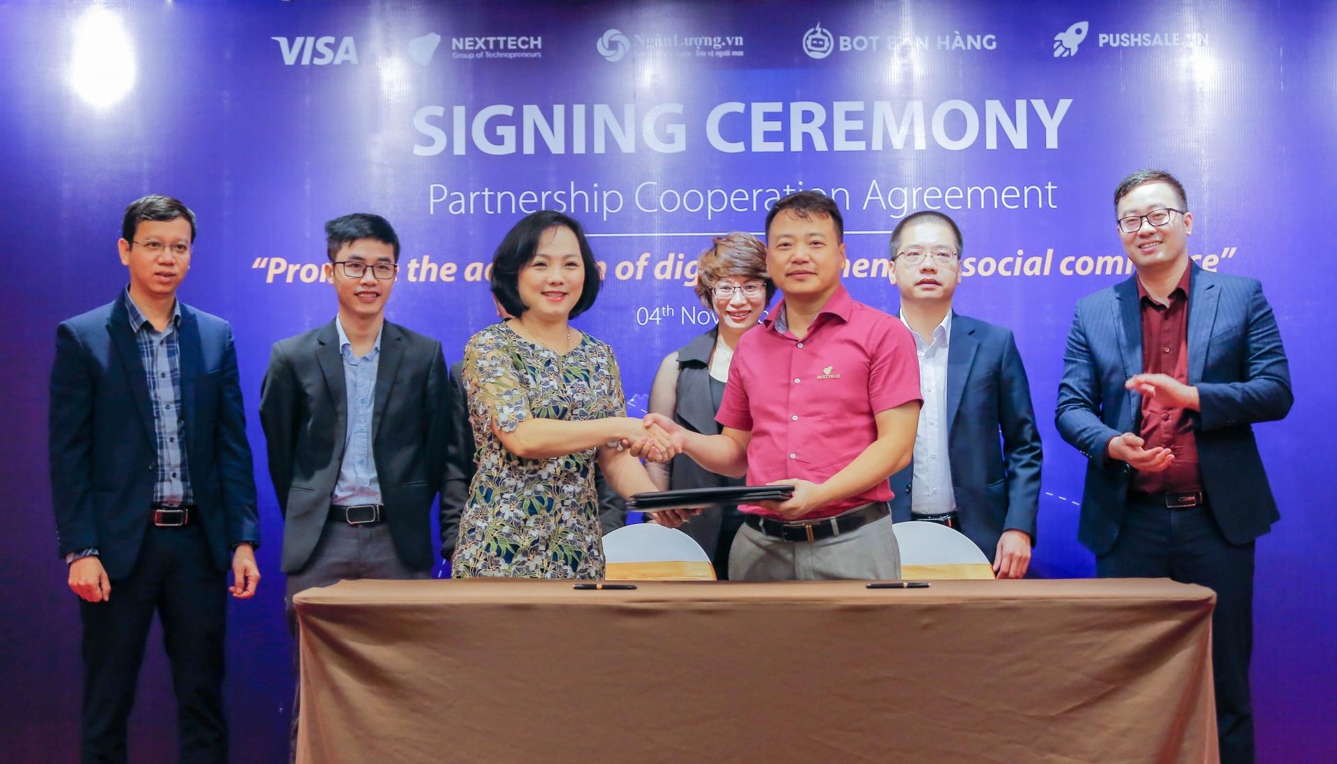 Visa and NextTech sign partnership to support social commerce merchants in Vietnam