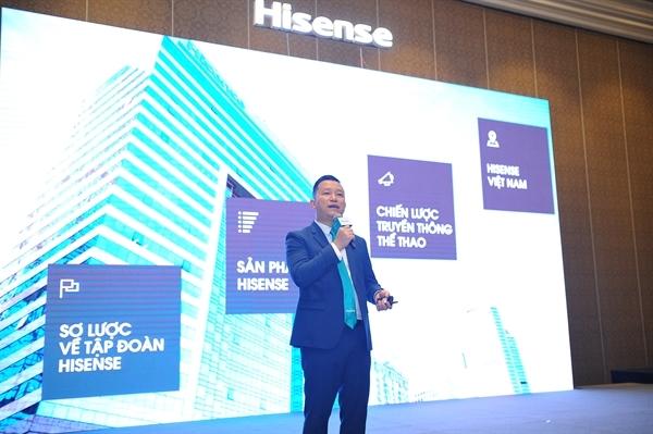 Hisense enters Vietnamese electronics market