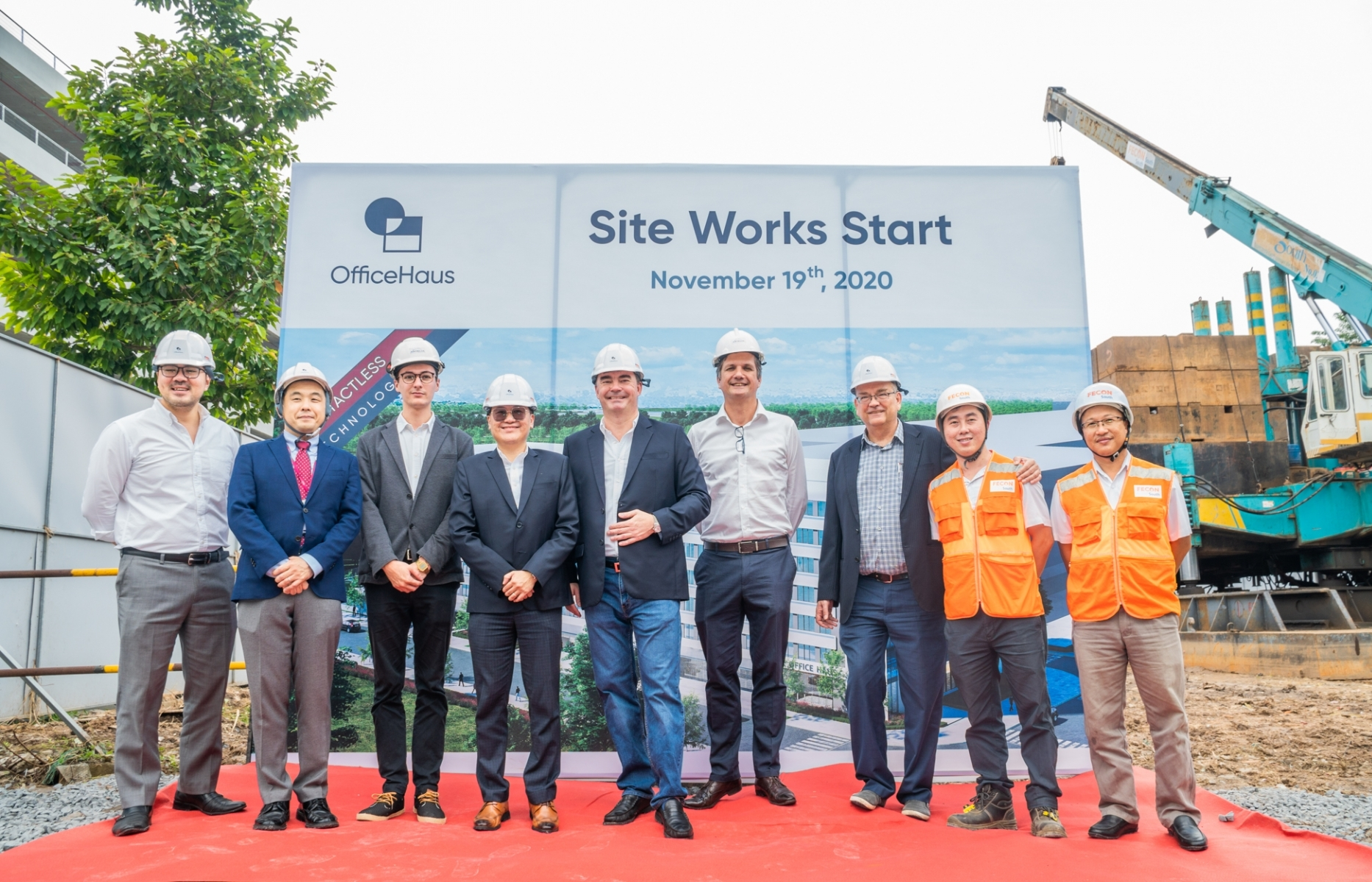 OfficeHaus announces start of site clearance at Celadon City