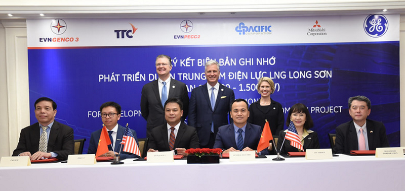 ge inks an agreement with evn genco3 to develop vietnam lng power plant