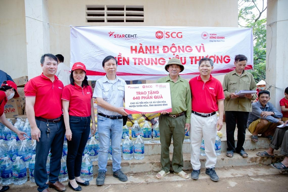SCG Group supports community in overcoming natural disaster damages