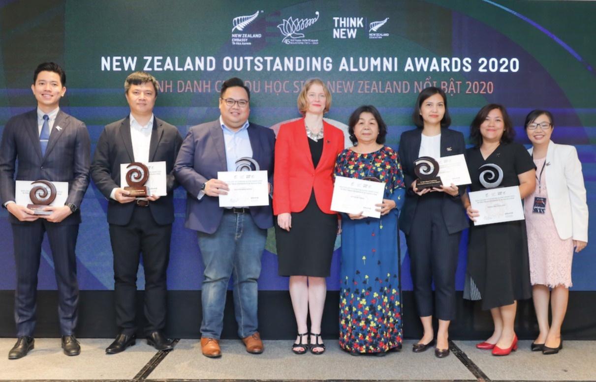 New Zealand honours Vietnamese Alumni with outstanding achievements