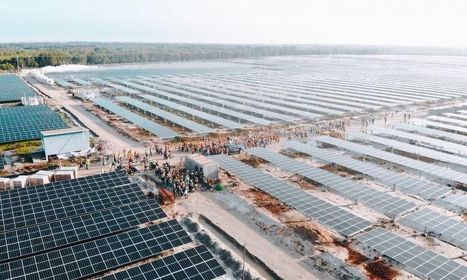 Thai firm spends $39.9 million acquiring solar farm in Vietnam