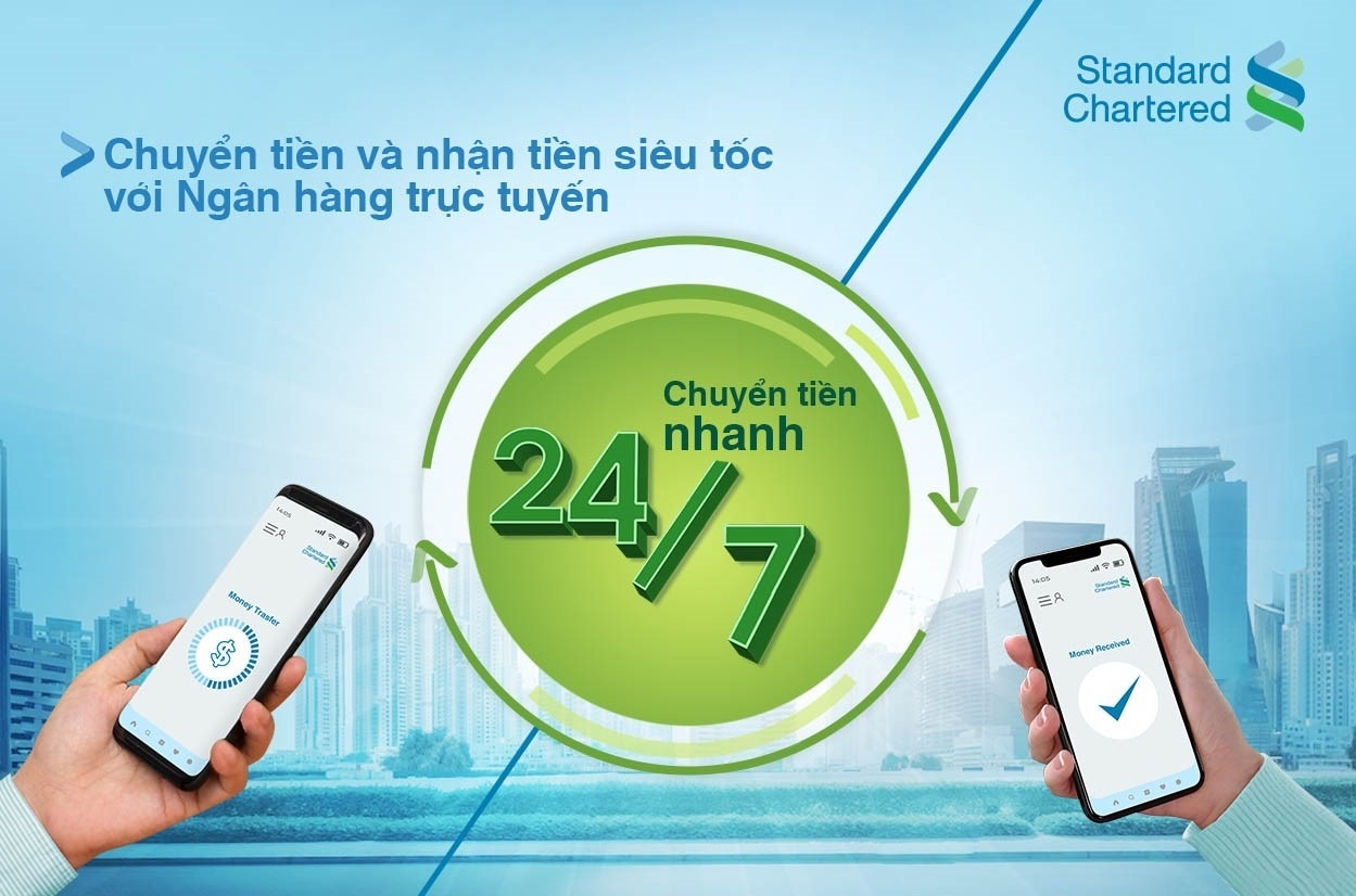 Standard Chartered Vietnam launches 24/7 instant interbank transfers