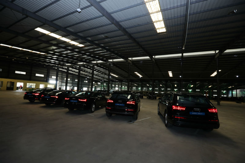 audi issues 258 new cars for apec 2017
