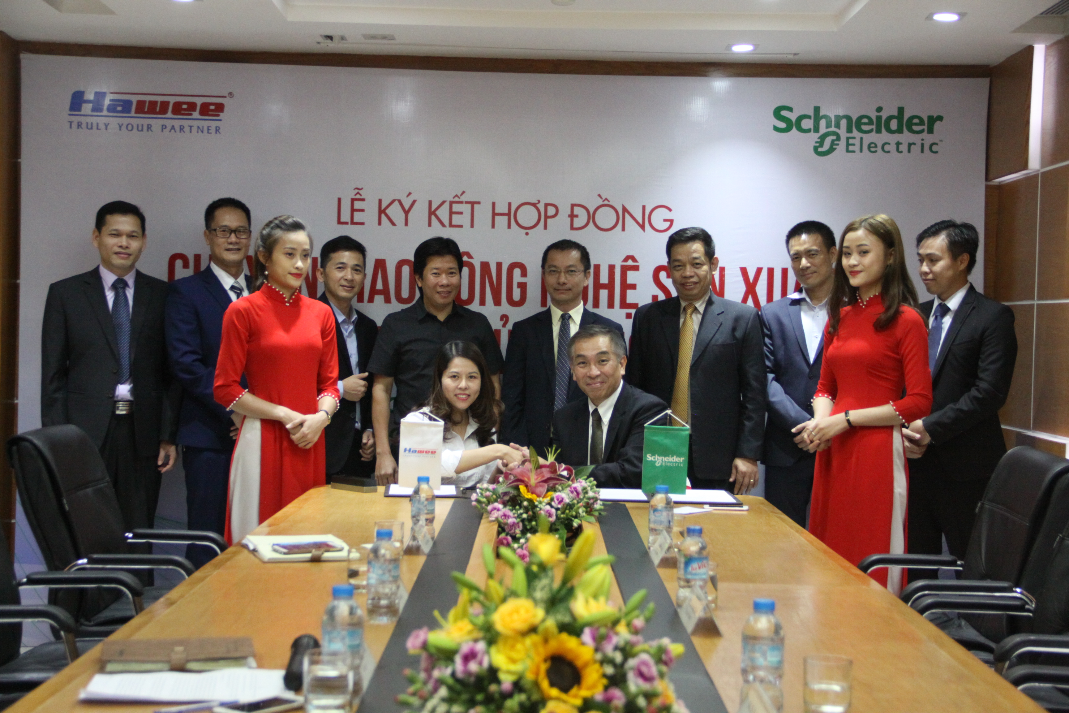 Schneider Electric and Hawee enter collaborative technology license deal