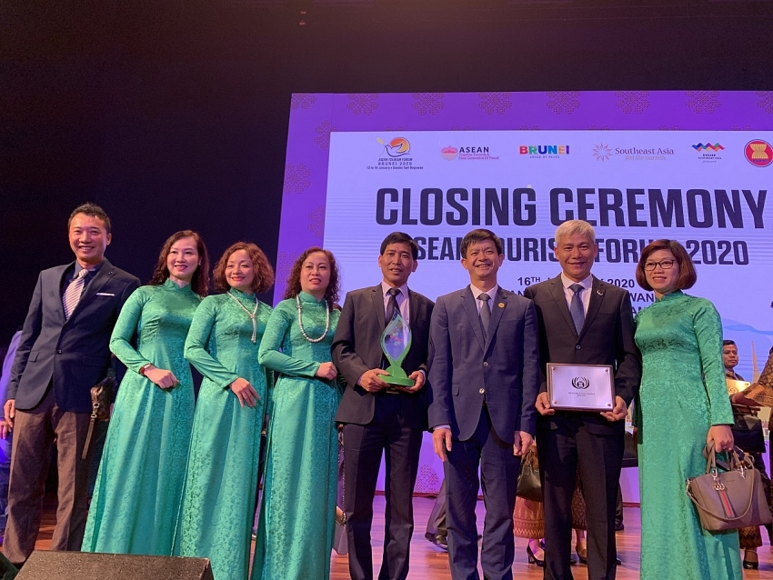 muong thanh luxury quang ninh wins asean mice venue award 2020
