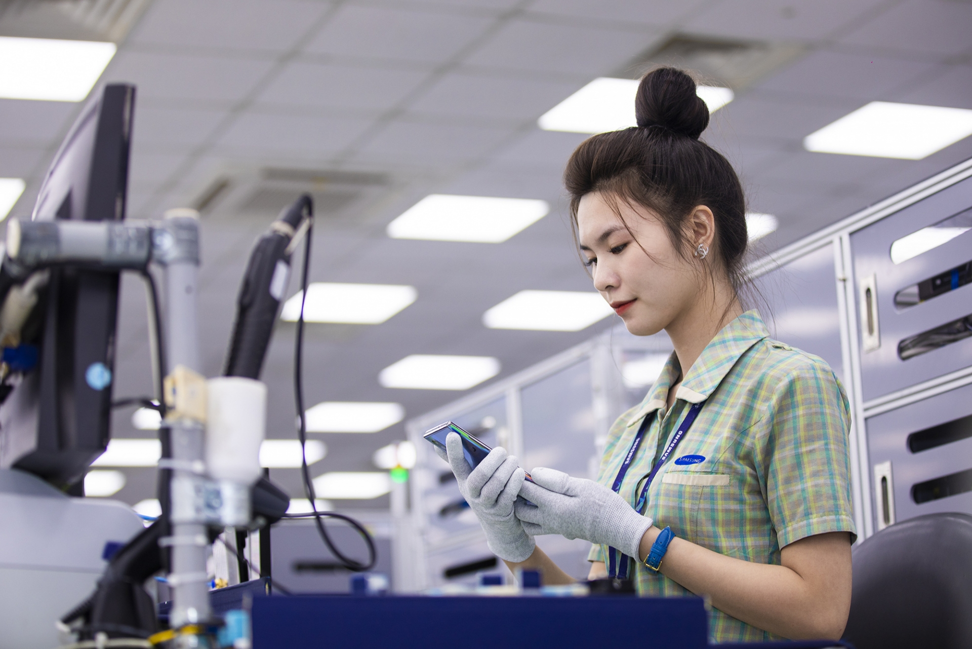 Vietnam's mobile devices reached the export value of $51 billion last year