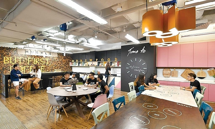Co-working spaces in Hanoi, HCMC see bright future