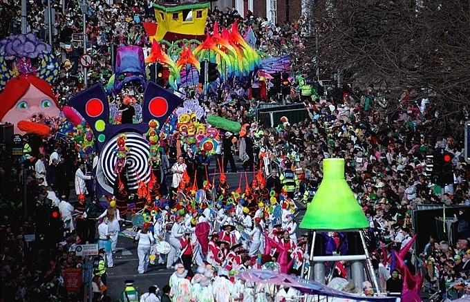 Ireland celebrates St Patrick's Day