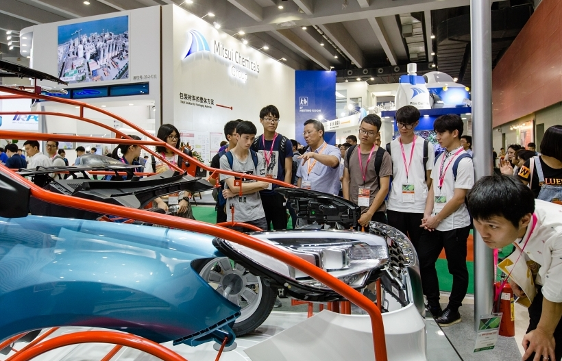 Advanced technology at Chinaplas 2018 accelerates automotive industry