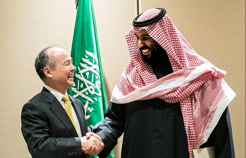 softbank and saudi arabia sign for worlds largest solar power project