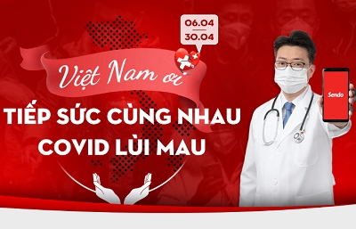 Sendo and Vietnam Red Cross join hands to beat COVID-19