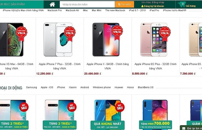parallel import market distressed over nhat cuong mobile