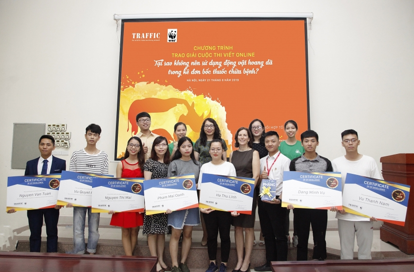 the winners of traffic sustainable traditional medicine competition
