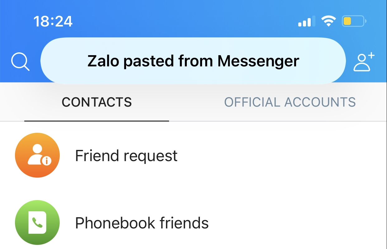 iOS update reveals Zalo and others encroaching on user privacy