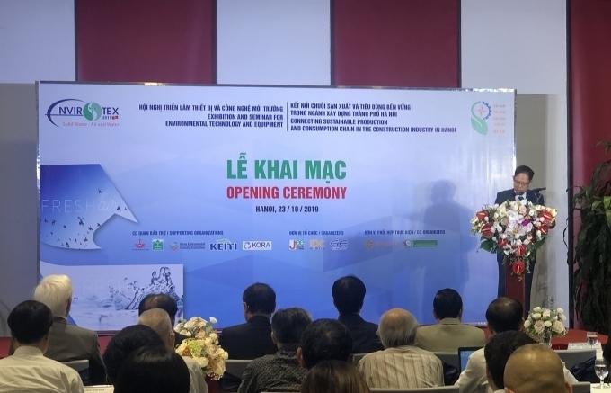 ENVIROTEX 2019 helps pollution treatment equipment approach Vietnam