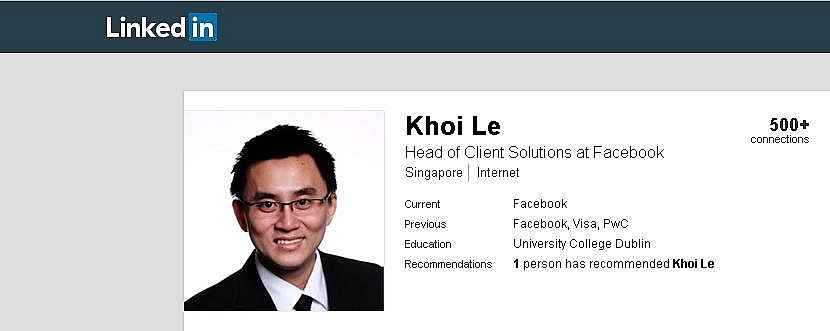 head of client solutions to replace christy le as facebook vietnam ceo