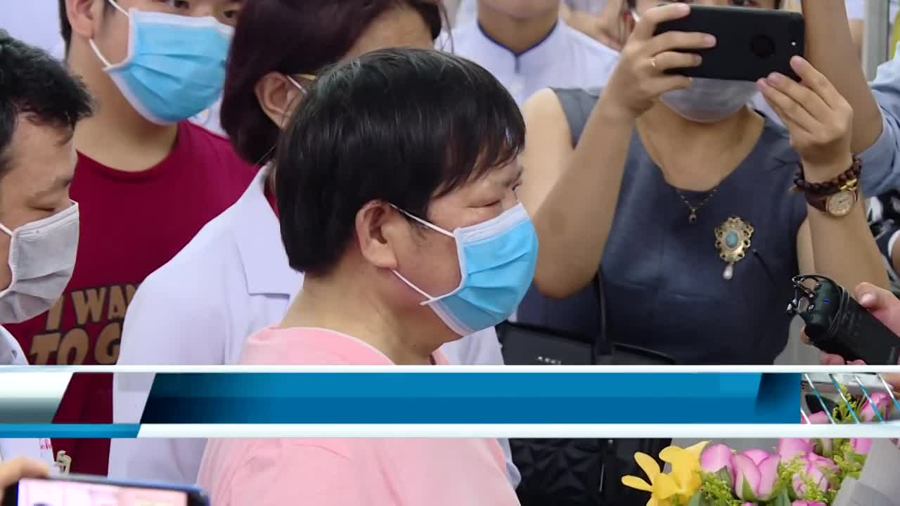 Chinese father and son discharged from hospital