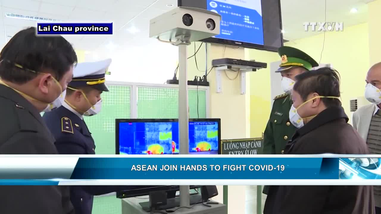 ASEAN joins hands to fight Covid-19