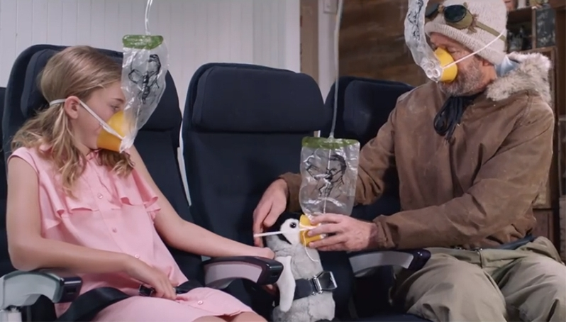 Air New Zealand is shining a global spotlight on Antarctica with its latest safety video