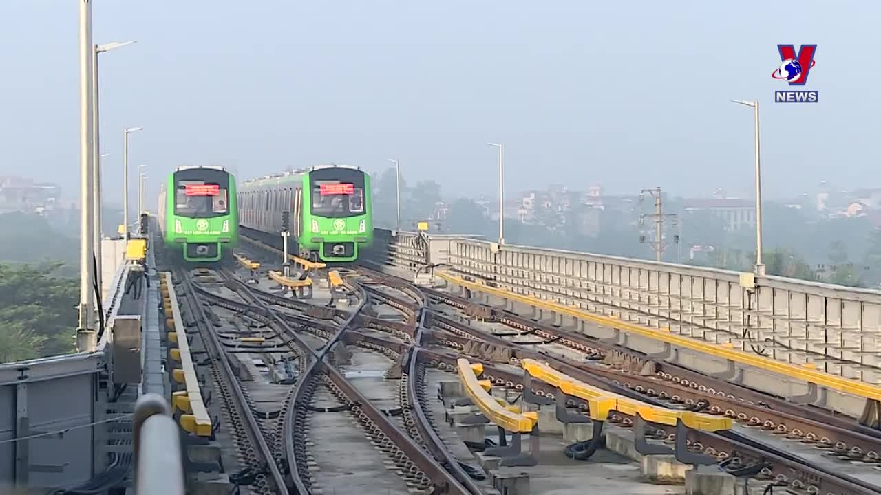Cat Linh-Ha Dong railway to be put into commercial operation